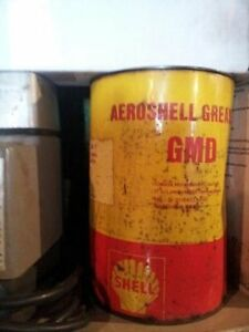 SHELL aeroshell grease 5lb tin unopened very very rare!!!
