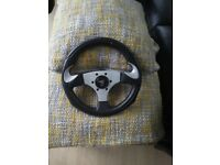 Original raid mx5 steering wheel 12.5 inches