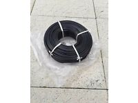 Brand New 100 metre roll of Low Voltage outdoor lighting cable