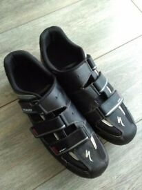 Specialized Body Geometry MTB shoes with Shimano SPD cleats great condition