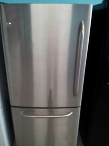 ge,whirlpool,kenmore stainess fridges $450/647 704 3868