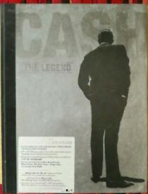 Johnny Cash The Legend Deluxe 5cd 1dvd