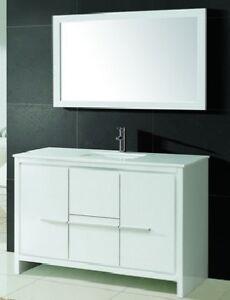 ⎷⎛Contemporary Bathroom Vanity & Cabinet Formosa FM48