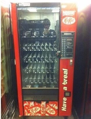 Vending machines WANTED