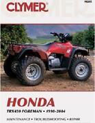Honda Foreman Manual
