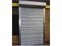 Brand new roller shutter doors, for garages, sheds, shops, stores (galvinised steel)
