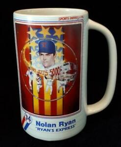 "Sports Impressions ""Ryan's Express"" Nolan Ryan Stein #485 Mint"