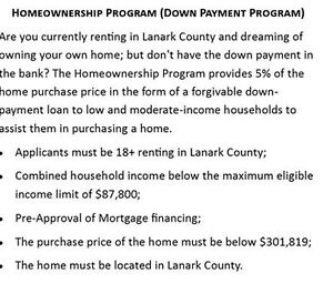 Do you currently rent in Lanark County but want to own?