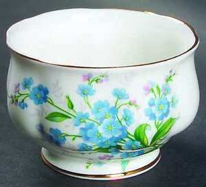 Royal Albert Forget-me-not Sugar Bowl