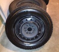 $590 OBO - Snow Tires - 4 Toyo Observe G-02 Plus on Rims -Exce