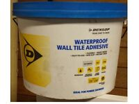 Dunlop Waterproof Ceramic Wall time adhesive.