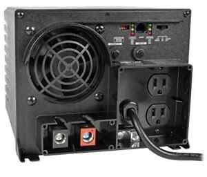 Tripp Lite APS750 750W 12V DC to AC Inverter with Automatic Line