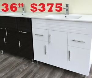 "36"" BATHROOM VANITY $375"