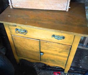 Antique washstand/cabinet