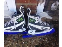 Mission ice hockey boots