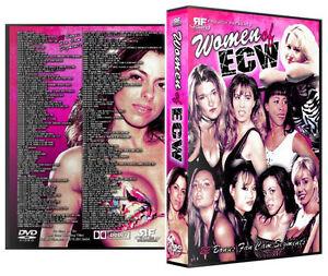 Women-of-ECW-7-DVD-R-Set-Dawn-Marie-Sunny-Beulah-Missy-Hyatt-WWE-WWF-Kimona