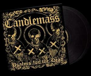 CANDLEMASS- Psalms For The Dead LIM. 2LP SET black vinyl FOC doom
