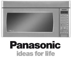 NEW PANASONIC 2.0CUFT MICROWAVE NNP295SF 143011709 Over the Range Microwave STAINLESS STEEL 420CFM