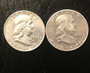 Franklin Half Dollar Lot