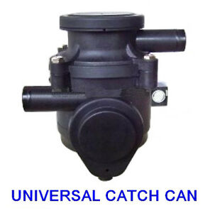 Small Oil Catch Can tank crankcase Universal Pro Patrol Hilux Navara 4x4 4WD