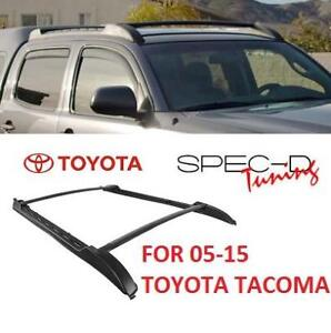NEW SPEC-D OE STYLE ROOF RACK RRB-TAC05BKOE 200458566 FOR 05-15 TOYOTA TACOMA