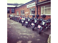 Motorcycle Repair, Mot's, Service's Tyre changes and valets labour £35 per hour