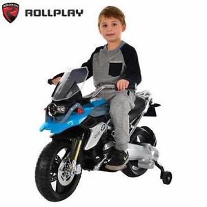 NEW BMW RIDE ON MOTORCYCLE W348AC-B-F 226555799 6 VOLT TOYS BIKE