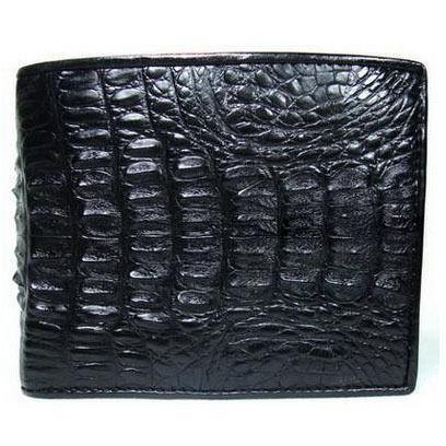Mens Black Crocodile Wallet Ebay