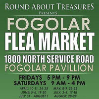 Flea Market at the Fogolar Friday 5p-9p and Saturday 9a-4p