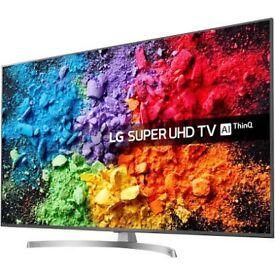 """LG 65SK8100PLA 65"""" Smart 4K Ultra HD HDR LED TV 2018 1 month old"""