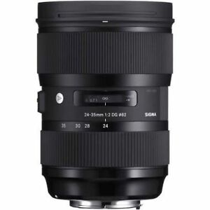 Sigma 24-35mm F2 zoom lens for Nikon