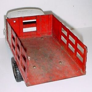 Antique 1950s Structo Pressed steel toy Truck London Ontario image 3