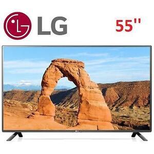 NEW OB LG 55'' 1080p  120Hz LED TV - 117549798 - 55LF6000