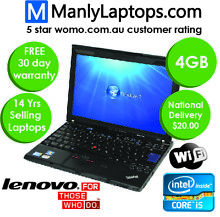 LOW PRICE i5 laptop -  X220 Lenovo - Back to School laptop BYD Pyrmont Inner Sydney Preview