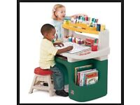 Step 2 child's desk-very robust.