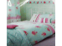 "Next ""Rose"" single Duvet and 2 Pillowcase Bed set"