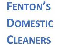 Domestic Cleaner for hire - All of Nottinghamshire covered - Available 7 days a week