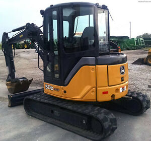 2011 John Deere 50D Excavator for sale.