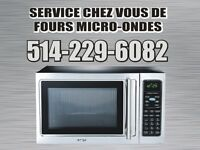 Home service for microwave ovens / Low price