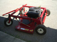 "2012 Swisher 60"" Tow Behind Mower"