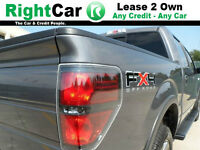 F150 FX4 4x4 CREW 4DR- Lease 2 Own - DCLI Credit Program