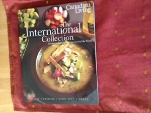 Canadian living international collection cook book