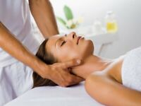 Massage therapy treatments for Women by a Professional Young Man