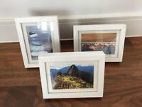 3 x Ikea Ribba frames, 18x24cm