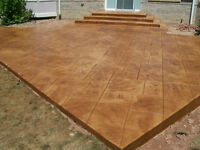 Looking for a quote, Stamped Concrete