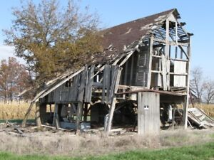 will demolish old barns and building