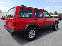 """Jeep 15"""" X 7"""" steel rims off of an 1996 XJ (Southern vehicle)"""