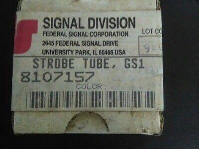 Federal Signal Gs1 Strobe Tube Clear 8107157a
