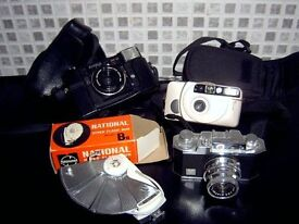 CAMERAS. VERY OLD