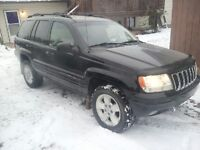 2001 Jeep Grand Cherokee Limited 4.7L V8